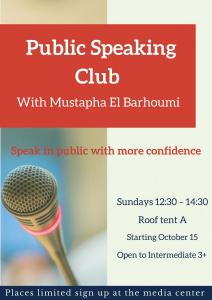 Public Speaking Club with El Barhoumi (2)