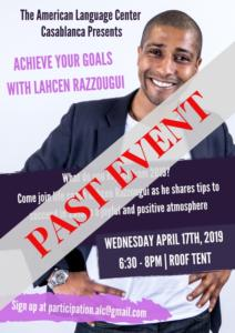 ACHIEVE YOUR GOALS WITH LAHCEN RAZZOUGUi