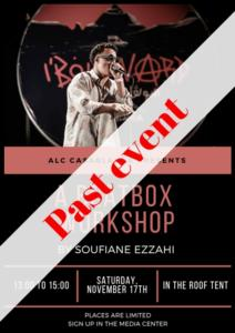 Beatbox poster