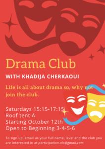 Drama Club Fall 2019