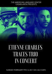Etienne Charle-Traces Trio in concert