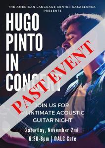 HUGO PINTO in Concert