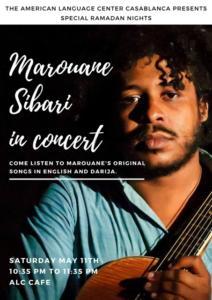 Marouane Sibari in concert