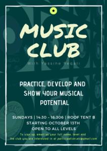 Music Club Fall 2019