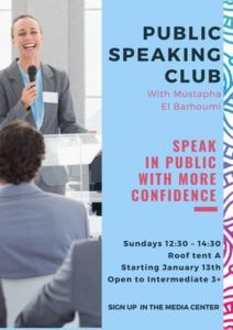 Public Speaking Club