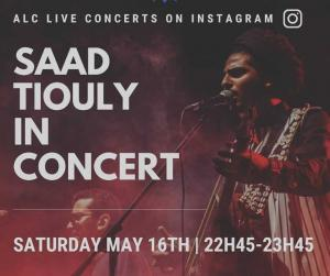 Saad Tiouly in concert