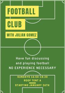 Soccer club winter 2020