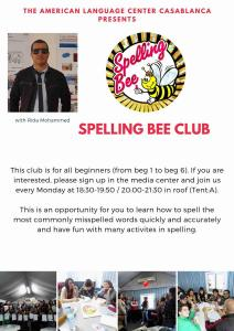 Spelling bee Winter 2020